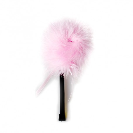 Dráždidlo péřové MALÉ pink marabou