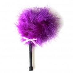 Dráždidlo péřové MALÉ purple marabou