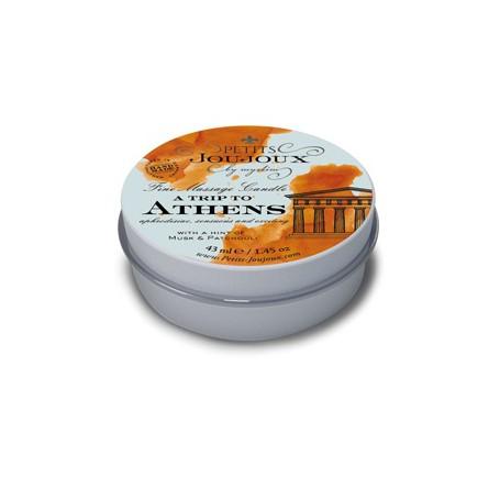 Svíčka masážní PETITS JouJoux ATHENS 33 g   Petits Joujoux