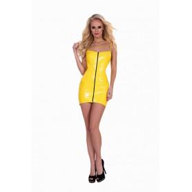 Šaty se ZIPEM DATEX žluté XL