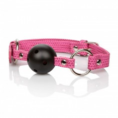 Roubík Calexotics TICKLE ME Ball Gag pink