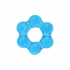 Kroužek na penis NS Novelties RENEGADE Spinner Ring blue