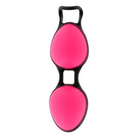 Venušiny kuličky JOYBALLS SECRET pink&black