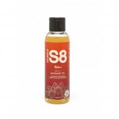 Olej masážní S8 Green Tea & Lilac Blossom 125 ml