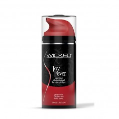 Lubrikační gel WICKED TOY FEVER WARMING 100 ml