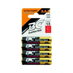 Baterie BC 4 ks alkalická mikrotužková - AAA
