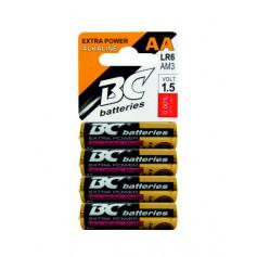 Baterie BC 4 ks alkalická tužková - AA