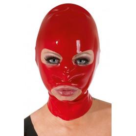 Maska LATEXOVÁ červená