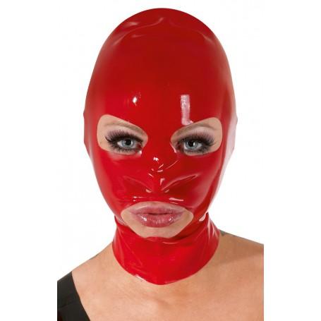 Maska LATEXOVÁ červená | Late X