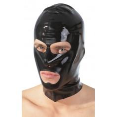 Latexová maska na hlavu s otvory pro oči a ústa