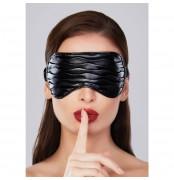 Maska na oči Adore Soft Ruched Faux Leather
