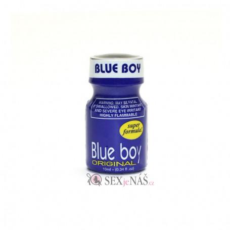 Čistič na kůži Poppers BLUE BOY Super Formula 10 ml