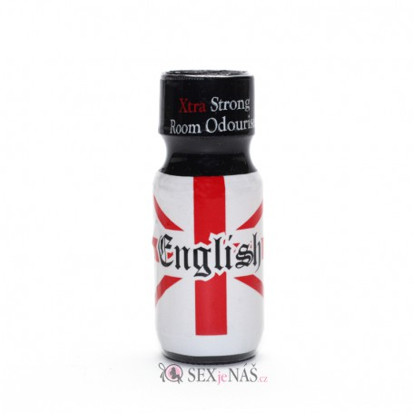 Čistič na kůži Poppers ENGLISH Xtra Strong 25 ml