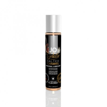 Lubrikační gel JO Gelato Salted Caramel Lubricant 30 ml