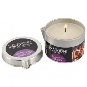 Svíčka masážní MAGOON Indian Oil 50 ml