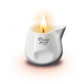 Svíčka masážní Plaisir Secret vanilla