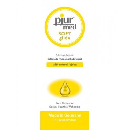 Lubrikační gel PJUR MED SOFT Glide 1,5 ml   Pjur