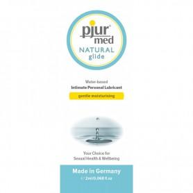 Lubrikační gel PJUR MED NATURAL Glide 2 ml