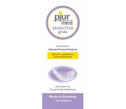 Lubrikační gel PJUR MED SENSITIVE Glide 2 ml