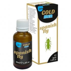 Španělské mušky MEN GOLD 30 ml