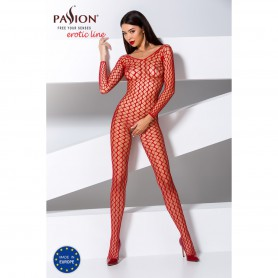 Catsuit Passion BS068 red