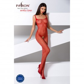 Catsuit Passion BS071 red