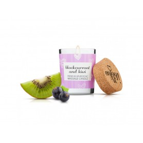 Masážní svíčka MAGNETIFICO - ENJOY IT! Blackcurrant and Kiwi 70 ml