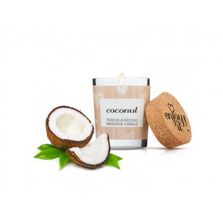Masážní svíčka na tělo MAGNETIFICO - ENJOY IT! Coconut 70 ml