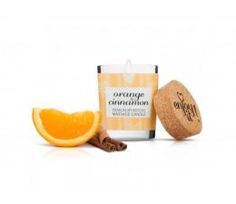 Masážní svíčka MAGNETIFICO - ENJOY IT! Orange and Cinnamon 70 ml