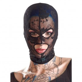 Maska BAD KITTY Mask Lace black