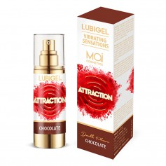 Gel MAI LUBIGEL LIQUID VIBRATOR chocolate