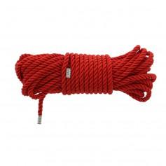 Lano na bondage DREAM TOYS BLAZE DELUXE BONDAGE ROPE red 10 m