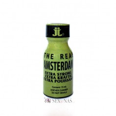 Čistič na kůži Poppers REAL AMSTERDAM Extra Strong 15 ml