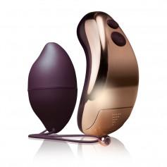 Vibrační vajíčko RO-DUET purple gold