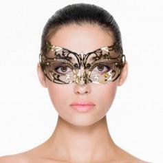 Maska na oči EasyToys Metal Mask Open gold