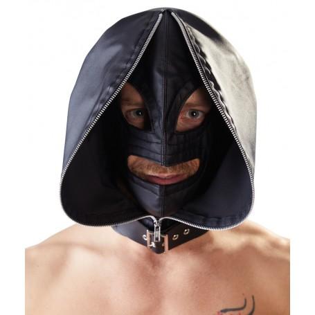 Maska FETISH Double mask černá