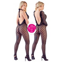 Catsuit Mandy Mystery black S-L