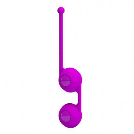 Venušiny kuličky PRETTY LOVE Kegel Tighten Up III fialové