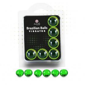 Tělový olej BRAZILIAN SHOCK 6 BALLS SET