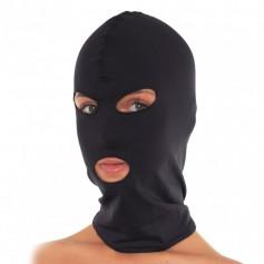 Maska EXTREME GIMP HOODS s otvory na oči a ústa černá