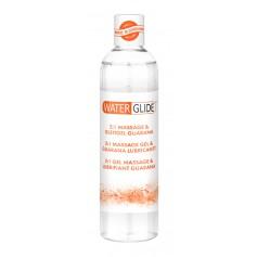 Lubrikační a masážní gel WATERGLIDE 2v1 GUARANA 300 ml