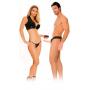 Nasazovací penis pro muže i ženy HOLLOW STRAP-ON vibrační