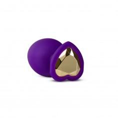 Anální šperk Blush TEMPTASIA BLING PLUG LARGE fialový