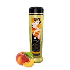 Masážní olej SHUNGA Erotic Massage Oil STIMULATION PEACH 240 ml