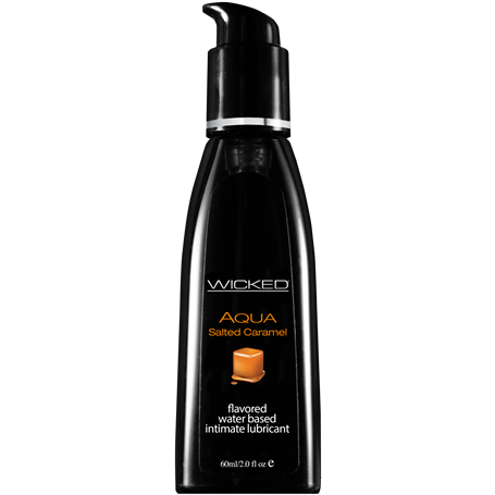 Lubrikační gel WICKED AQUA SALTED CARAMEL 60 ml