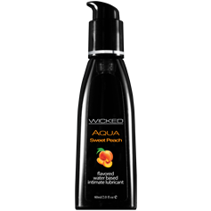 Lubrikační gel WICKED AQUA SWEET PEACH 60 ml