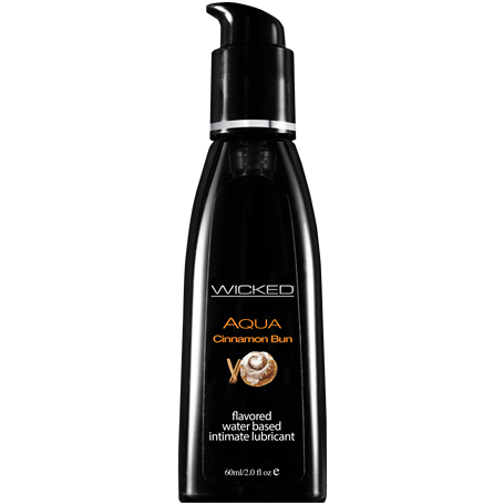 Lubrikační gel WICKED AQUA CINNAMON BUN 60 ml