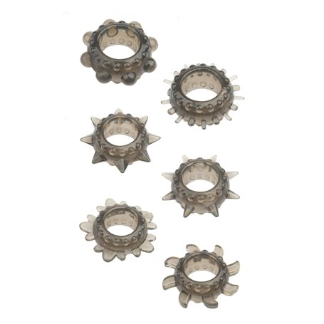 Erekční kroužky MENZSTUFF RING SET 6 ks