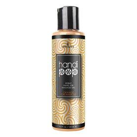 Olej masážní Sensuva Handipop Hand Job Massage Gel Orange 125 ml