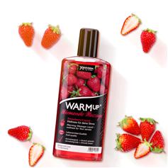 Tělový olej WARMup Jahoda 150 ml